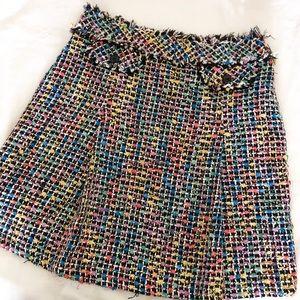 Trina Turk Tweed Skirt